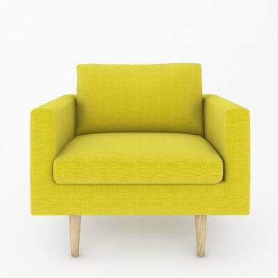 Brady Armchair Color: Klein Wheatgrass
