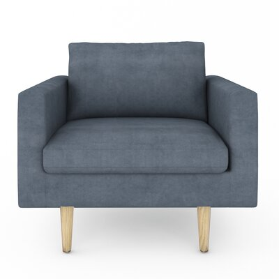 Brady Armchair Color: Bella Cornflower