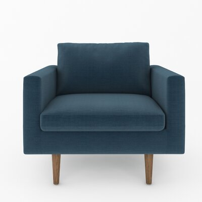 Brady Armchair Color: Klein Azure