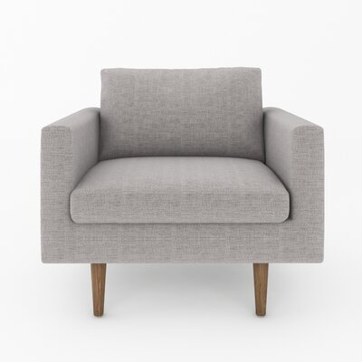 Brady Armchair Color: Belfast Grey