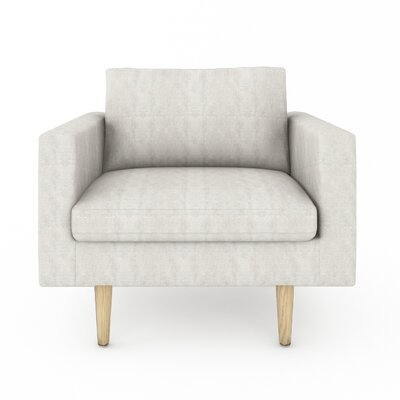 Brady Armchair Color: Sonoma Grey