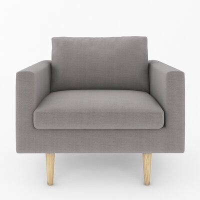 Brady Armchair Color: Wales Grey