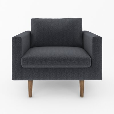 Brady Armchair Color: Wales Charcoal
