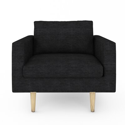 Brady Arm Chair Color: Sonoma Black