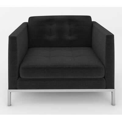 Jack Armchair Color: Belfast Midnight