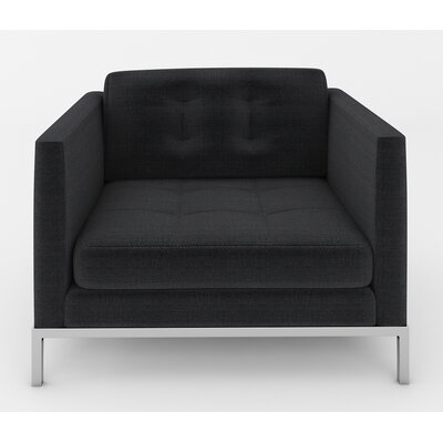 Jack Armchair Color: Belfast Charcoal
