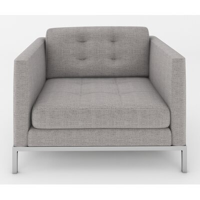 Jack Armchair Color: Belfast Grey