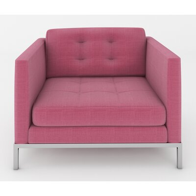 Jack Arm Chair Color: Dusty Pink