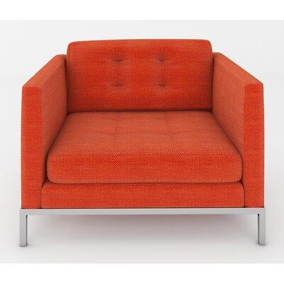 Jack Armchair Color: Casandra Orange