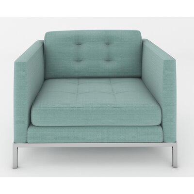 Jack Armchair Color: Klein Laguna