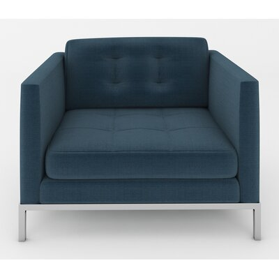 Jack Armchair Color: Klein Azure