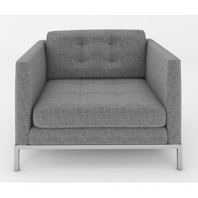 Jack Arm Chair Color: Sand Grey