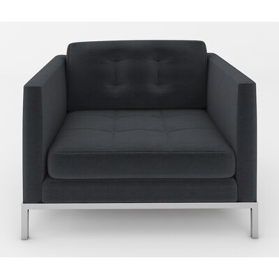 Jack Armchair Color: Klein Black