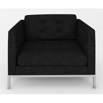 Jack Armchair Body Fabric: Sonoma Black