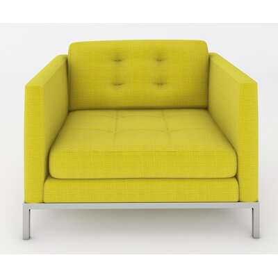 Jack Arm Chair Color: Klein Wheatgrass