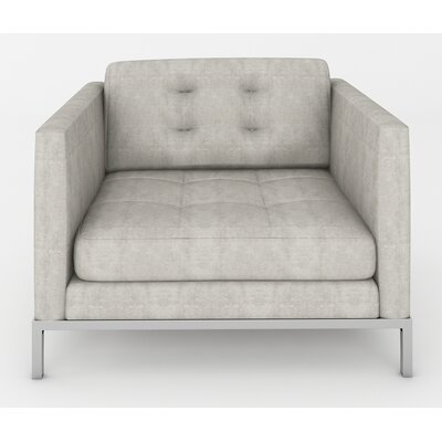 Jack Armchair Color: Sonoma Grey