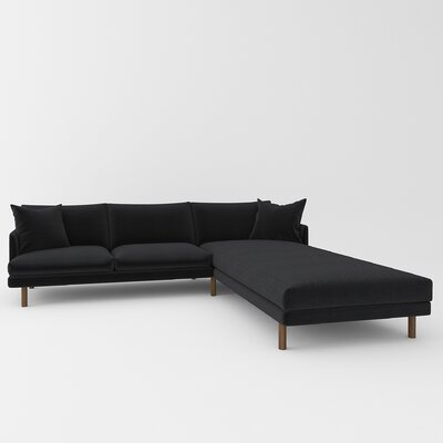 Tabitha Sectional Upholstery: Belfast Midnight
