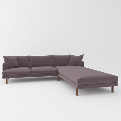 Tabitha Sectional Upholstery: Belfast Stone