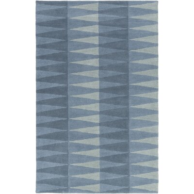 Mod Pop Hand-Tufted Blue Area Rug Rug Size: Rectangle 5 x 76