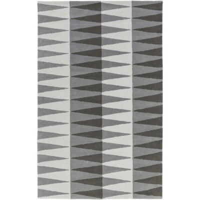 Mod Pop Hand-Tufted Gray Area Rug Rug Size: Rectangle 8 x 10