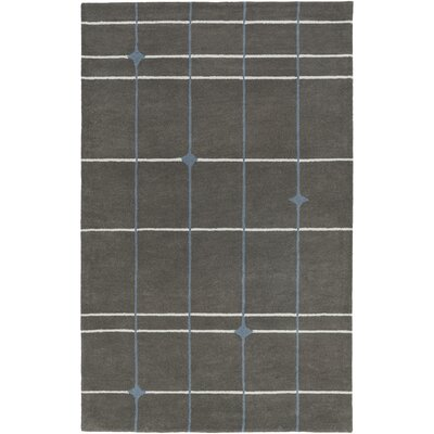 Mod Pop Hand-Tufted Gray Area Rug Rug Size: Runner 26 x 8