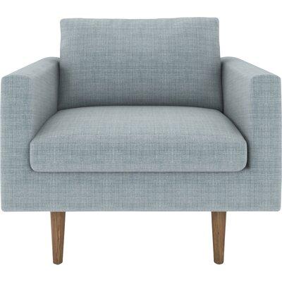 Brady Armchair Upholstery: Blue Bird