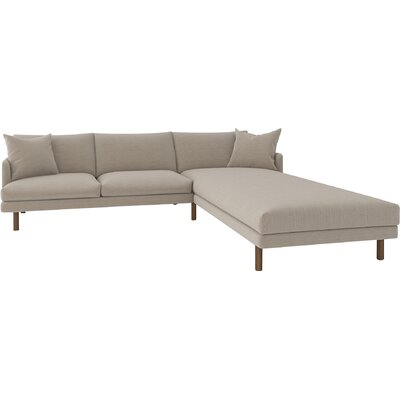 Tabitha Sectional Upholstery: Klein Mouse