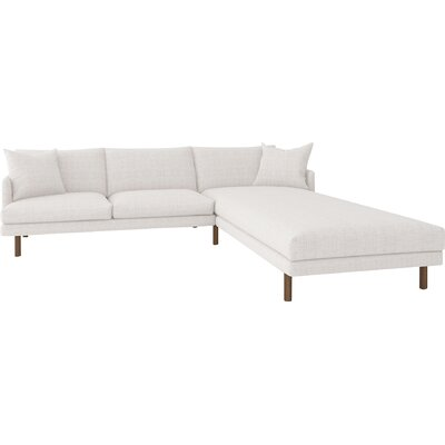 Tabitha Sectional Upholstery: Wales Magnolia