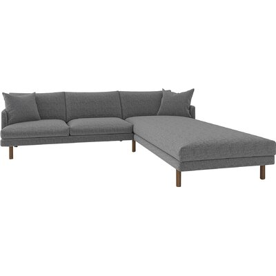 Tabitha Sectional Body Fabric: Sand Gray