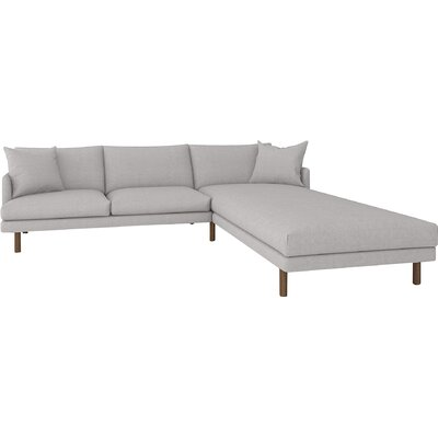 Tabitha Sectional Body Fabric: Bella Grey