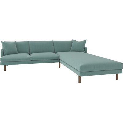 Tabitha Sectional Body Fabric: Klein Laguna