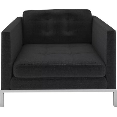 Jack Armchair Body Fabric: Belfast Charcoal