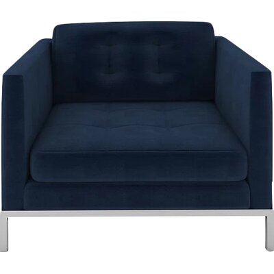 Jack Armchair Body Fabric: Luxor Navy