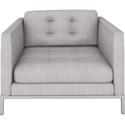 Jack Armchair Body Fabric: Bella Grey