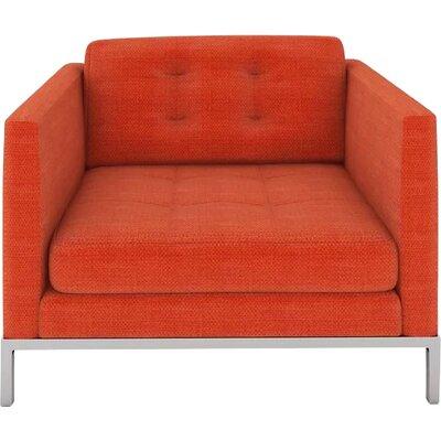 Jack Armchair Body Fabric: Cassandra Orange