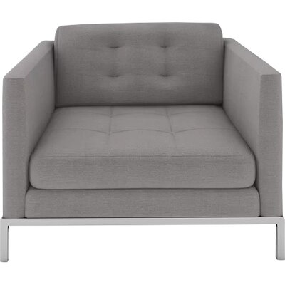 Jack Armchair Body Fabric: Sand Grey