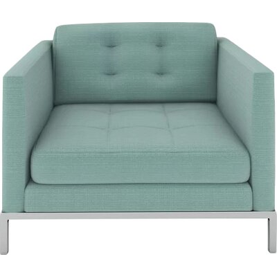 Jack Armchair Body Fabric: Klein Laguna
