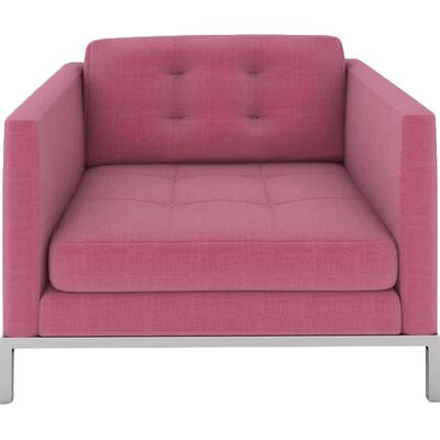 Jack Armchair Body Fabric: Dusty Pink