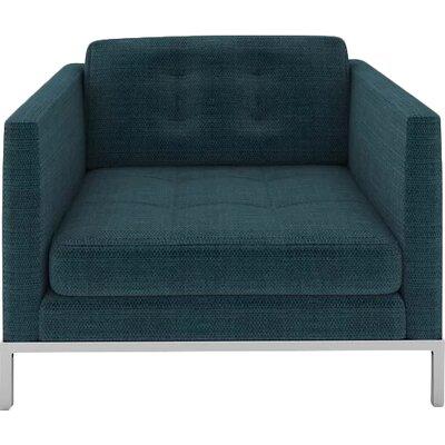 Jack Armchair Body Fabric: Casandra Turquoise