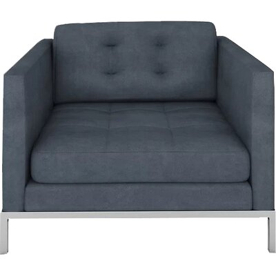 Jack Armchair Body Fabric: Bella Cornflower