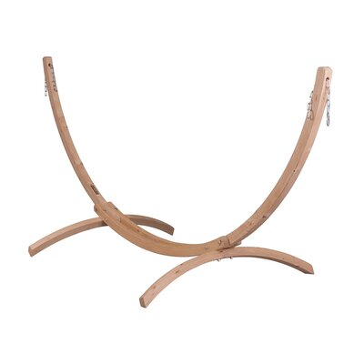 CANOA Wood Stand for Single Hammocks Size: Single