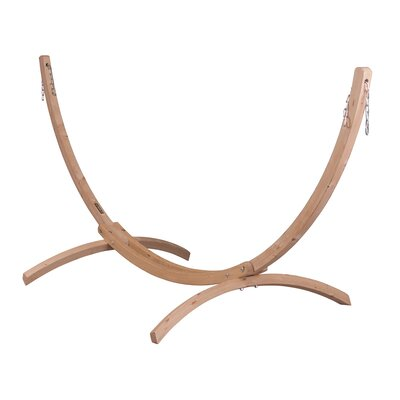 CANOA Wood Stand for Single Hammocks Size: Double