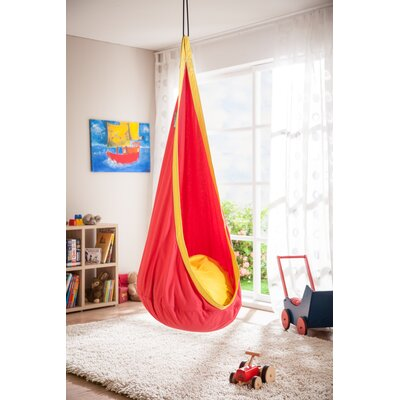 JOKI Cotton Chair Hammock Color: Cherry
