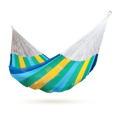 MEXICANA Mayan Net Cotton Tree Hammock Color: Canaria