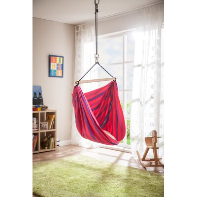 LORI Organic Cotton Chair Hammock Color: Lilly
