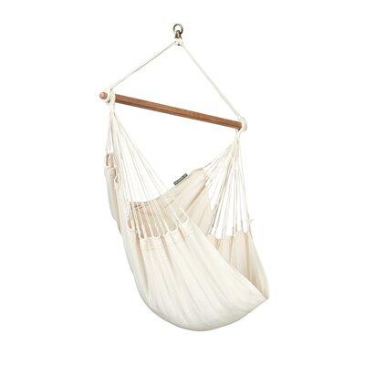 MODESTA Basic Cotton Chair Hammock Color: Latte