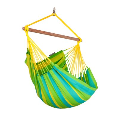 SONRISA Weatherproof Basic Olefin Chair Hammock Color: Lime