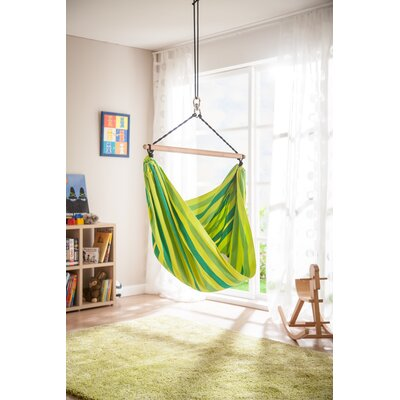 LORI Organic Cotton Chair Hammock Color: Froggy