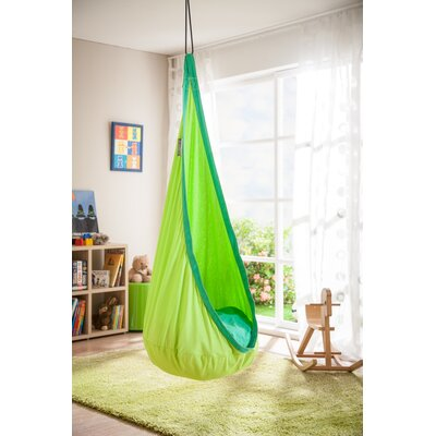 JOKI Cotton Chair Hammock Color: Froggy