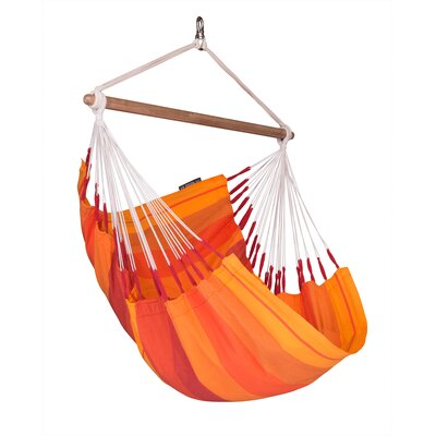 ORQU�DEA Volcano Basic Cotton Chair Hammock Color: Orquidea Volcano